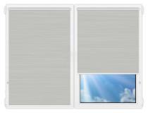 Рулонные шторы Мини - Балтик-серый на пластиковые окна