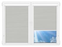 Рулонные кассетные шторы УНИ - Балтик серый