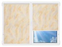 Рулонные шторы Мини - Фиренц-101 на пластиковые окна