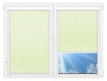 Рулонные кассетные шторы УНИ - Иви-фа на пластиковые окна