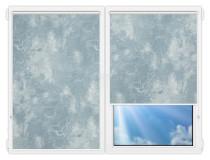 Рулонные шторы Мини - Клаудиа-блу на пластиковые окна