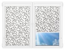 Рулонные кассетные шторы УНИ - Ламьера-черный