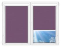 Рулонные кассетные шторы УНИ - Лусто-фиолетовый