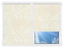 Рулонные шторы Мини - Мегаполис-8 на пластиковые окна
