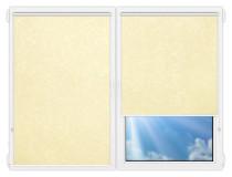 Рулонные шторы Мини - Шелк-молочный на пластиковые окна