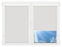 Рулонные кассетные шторы УНИ - Скрин-1