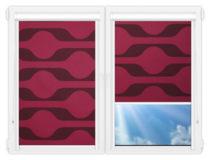 Рулонные кассетные шторы УНИ - Вискан-401