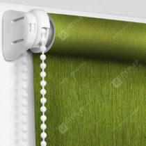 Рулонные кассетные шторы УНИ - Лусто-темно-зеленый