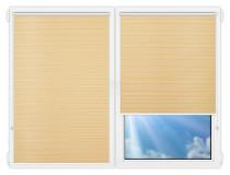 Рулонные шторы Мини - Маракеш-еллоу на пластиковые окна
