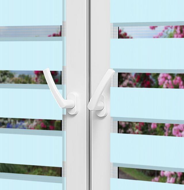 Рулонные шторы День-Ночь - Латина на пластиковые окна