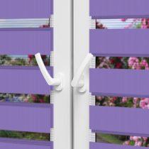 Рулонные шторы День-Ночь — Латина 0009 на пластиковые окна