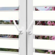 Рулонные шторы День-Ночь — Латина 1301 на пластиковые окна
