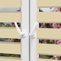 Рулонные шторы День-Ночь — Латина 1303 на пластиковые окна