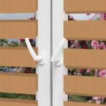 Рулонные шторы День-Ночь — Латина 1304 на пластиковые окна