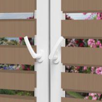 Рулонные шторы День-Ночь — Латина 1305 на пластиковые окна