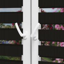 Рулонные шторы День-Ночь — Латина 1308 на пластиковые окна