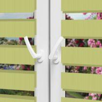 Рулонные шторы День-Ночь — Латина 1807 на пластиковые окна