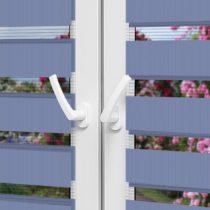 Рулонные шторы День-Ночь — Латина 1808 на пластиковые окна