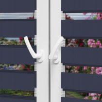 Рулонные шторы День-Ночь — Латина 1810 на пластиковые окна