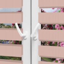 Рулонные шторы День-Ночь — Латина 1811 на пластиковые окна