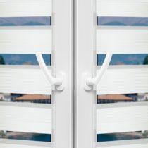 Рулонные шторы День-Ночь - Лацио 13 на пластиковые окна