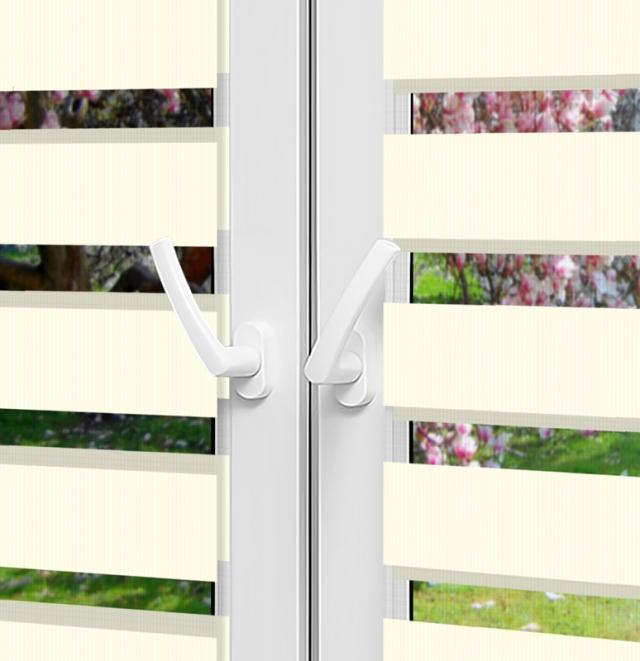 Рулонные шторы День-Ночь - Монца 23 на пластиковые окна