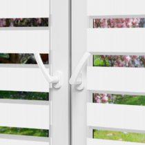 Рулонные шторы День-Ночь - Монца 45 на пластиковые окна