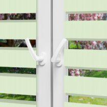 Рулонные шторы День-Ночь - Монца 62 на пластиковые окна