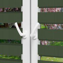 Рулонные шторы День-Ночь - Монца 67 на пластиковые окна