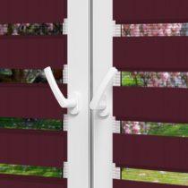 Рулонные шторы День-Ночь - Монца 77 на пластиковые окна