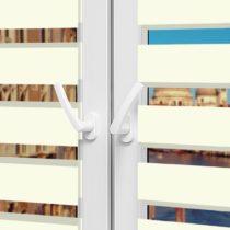 Рулонные шторы День-Ночь - Неаполь 91 на пластиковые окна