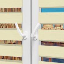 Рулонные шторы День-Ночь - Неаполь 92 на пластиковые окна
