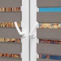 Рулонные шторы День-Ночь - Неаполь 93 на пластиковые окна