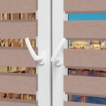 Рулонные шторы День-Ночь - Неаполь 94 на пластиковые окна