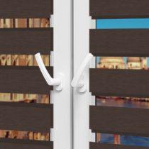 Рулонные шторы День-Ночь - Неаполь 95 на пластиковые окна