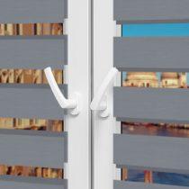 Рулонные шторы День-Ночь - Неаполь 96 на пластиковые окна