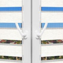 Рулонные шторы День-Ночь - Палермо 12 на пластиковые окна