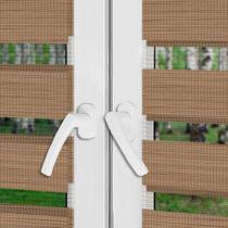 Рулонные шторы День-Ночь - Равенна 38 на пластиковые окна