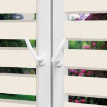 Рулонные шторы День-Ночь - Реджина 31 на пластиковые окна