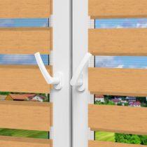 Рулонные шторы День-Ночь - Форли 1 на пластиковые окна