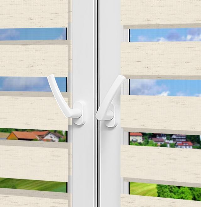 Рулонные шторы День-Ночь - Форли 4 на пластиковые окна