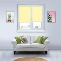 Рулонные шторы Мини - Мадагаскар светло-желтый