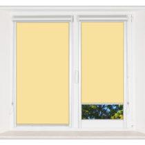 Рулонные шторы Мини - Мадагаскар желтый