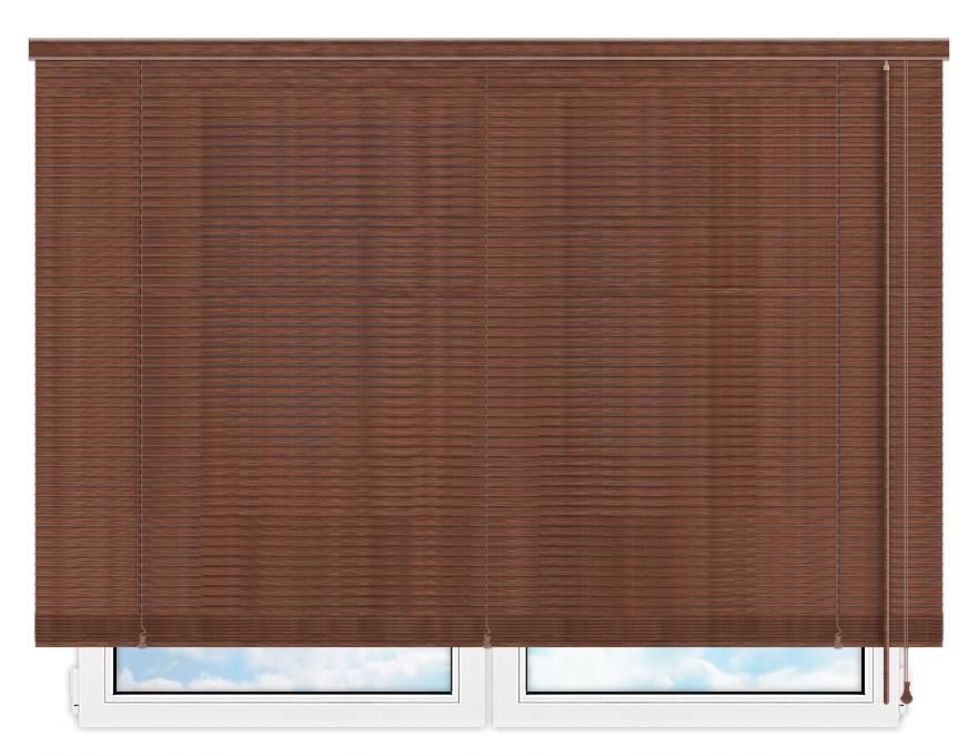 Деревянные жалюзи 25 мм, цвет 24