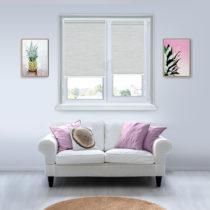 Рулонные шторы Мини - Корсо светло-серый