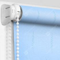 Рулонные шторы Мини - Флора голубой