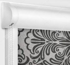 Рулонные кассетные шторы УНИ - Калипсо кофе