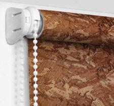 Рулонные шторы Мини - Шелк коричневый