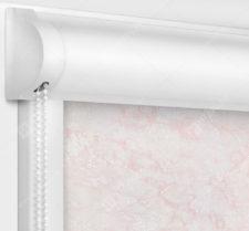 Рулонные кассетные шторы УНИ - Шелк розовый