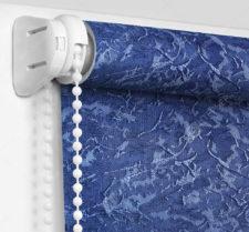 Рулонные шторы Мини - Шелк синий